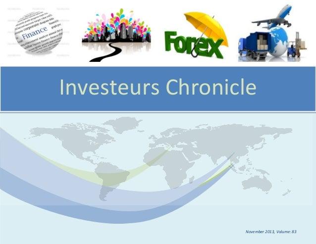 Investeurs Chronicle  November 2013, Volume: 83