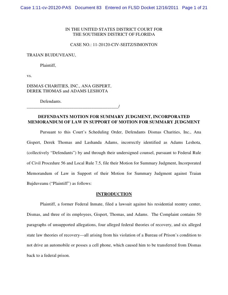 Case 1:11-cv-20120-PAS Document 83 Entered on FLSD Docket 12/16/2011 Page 1 of 21                        IN THE UNITED STA...