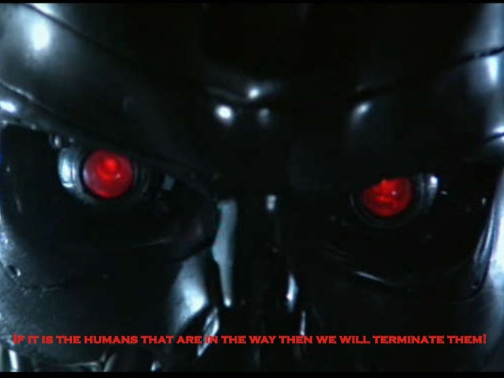 If it is the humans that are in the way then we will terminate them! 50B Vision IPv6 | 2011-05-24 | Page 1 (3)
