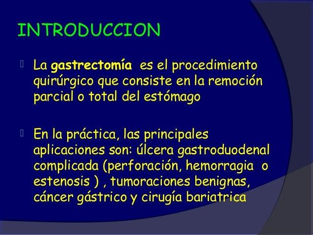 Gastrectomía laparoscópica - CICAT-SALUD Slide 2