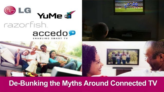 ©2012 YuMe. All rights reserved. CONFIDENTIAL2 LGWendell Wenjen, Director, Advertising &Interactive TV Platforms Razorfi...