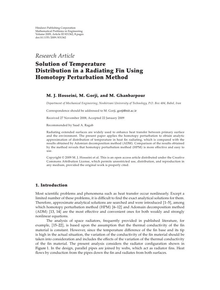 Hindawi Publishing Corporation Mathematical Problems in Engineering Volume 2009, Article ID 831362, 8 pages doi:10.1155/20...