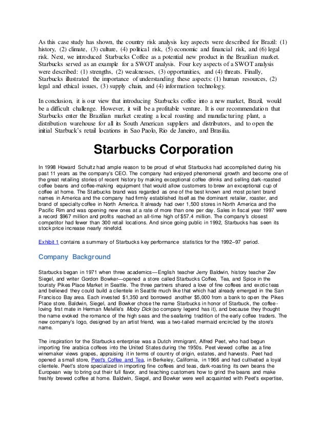 starbuck serving up site visitor service plan court case study