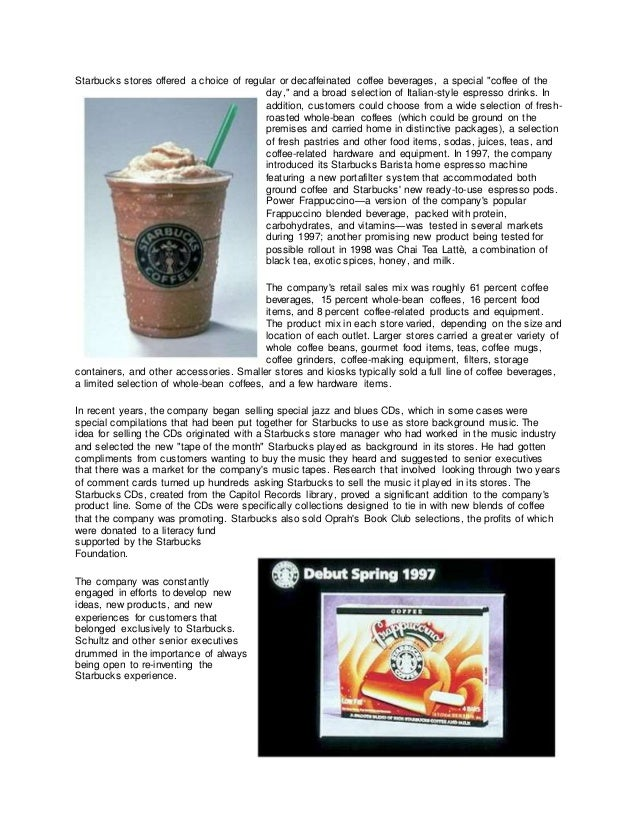 starbucks research paper The marketing plan of a new starbucks coffee shop includes key aspects: first of all research paper writers pay for essay pay for paper.