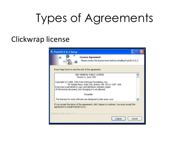 types of software license contracts