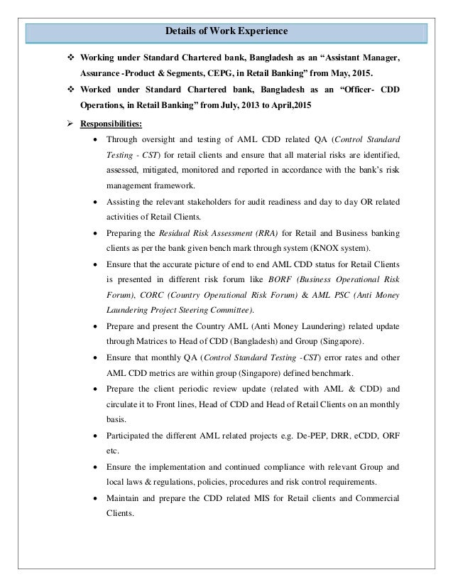 resume of arif al mahdee updated