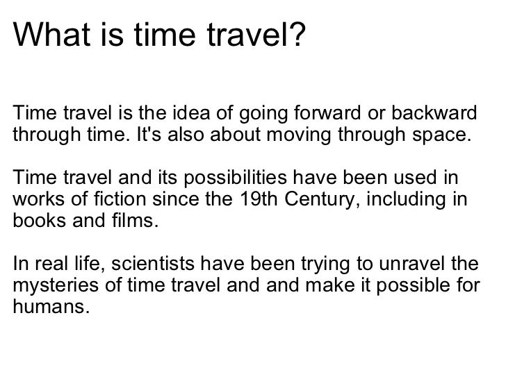 is time travel possible is time travel possible by jake mustain 2