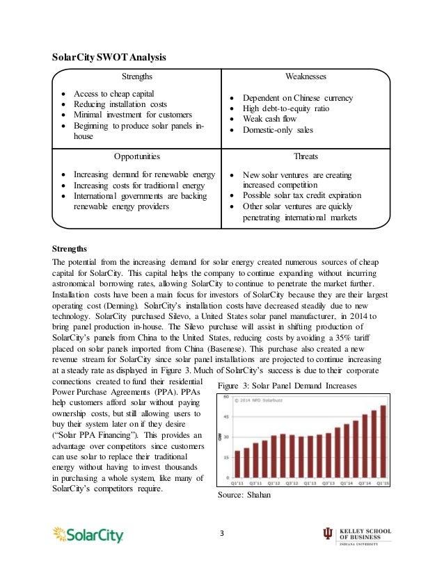 Fortune Solar Energy SWOT Analysis