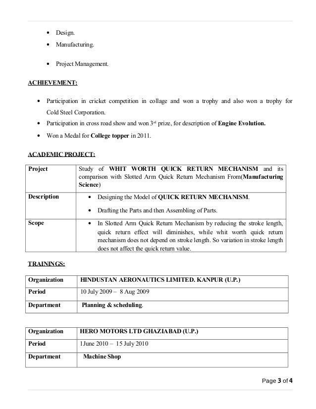 length of resume