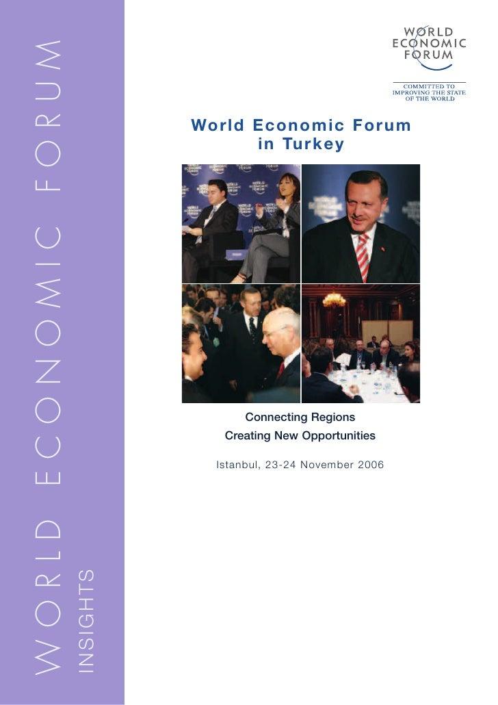 WORLD ECONOMIC FORUM                                    World Economic Forum                                         in Tu...