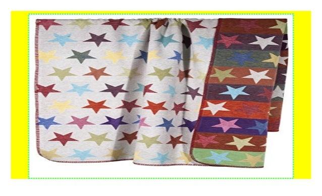 Decke Stars.Pad Decke Kuscheldecke Wendedecke Stars Sterne Multi 150