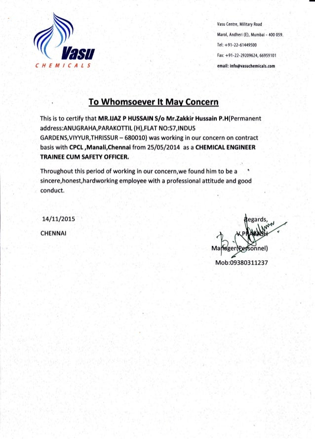 @L Vasu Centre, Mititary Road Marol, Andheri (E), Mumbai - 400 059. Tel: +91-22-61449500 I ax: +9 1 -22-79209 624, 6695 9 ...