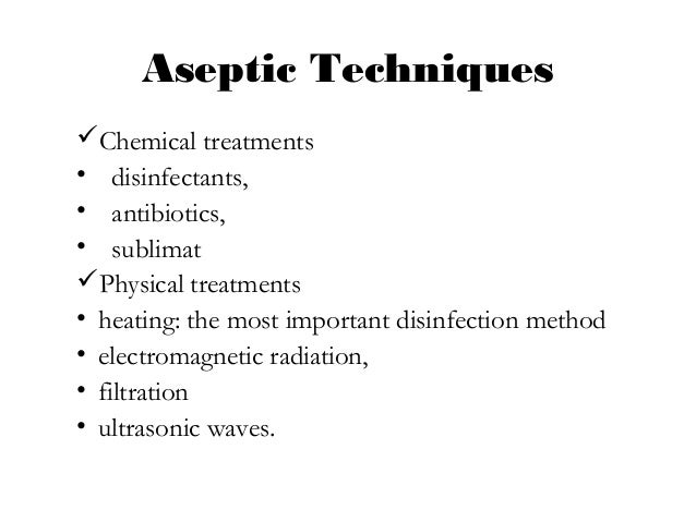aseptic technique exercise 2