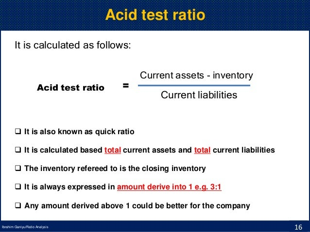 how to find quick ratio
