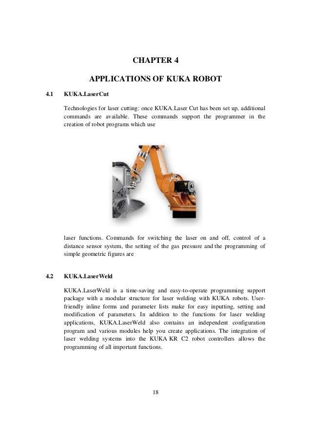 working and programming of kuka robot rh slideshare net KUKA KR 16 Kuka Automation