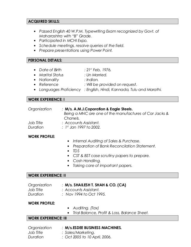 Cool Acquired Skills Resume Pictures Inspiration - Wordpress Themes ...