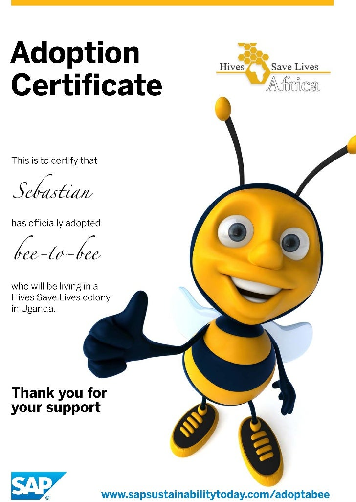 """Hives Saves Life """"Bee-to-Bee"""""""