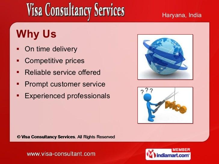 Visa Consultancy Services Haryana  India Slide 3