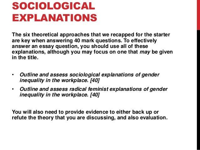 Refuting feminism essay
