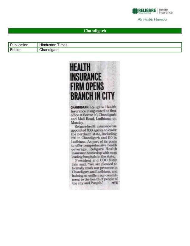 Chandigarh Publication Edition  Hindustan Times Chandigarh