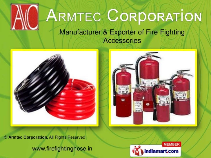 Manufacturer & Exporter of Fire Fighting Accessories<br />