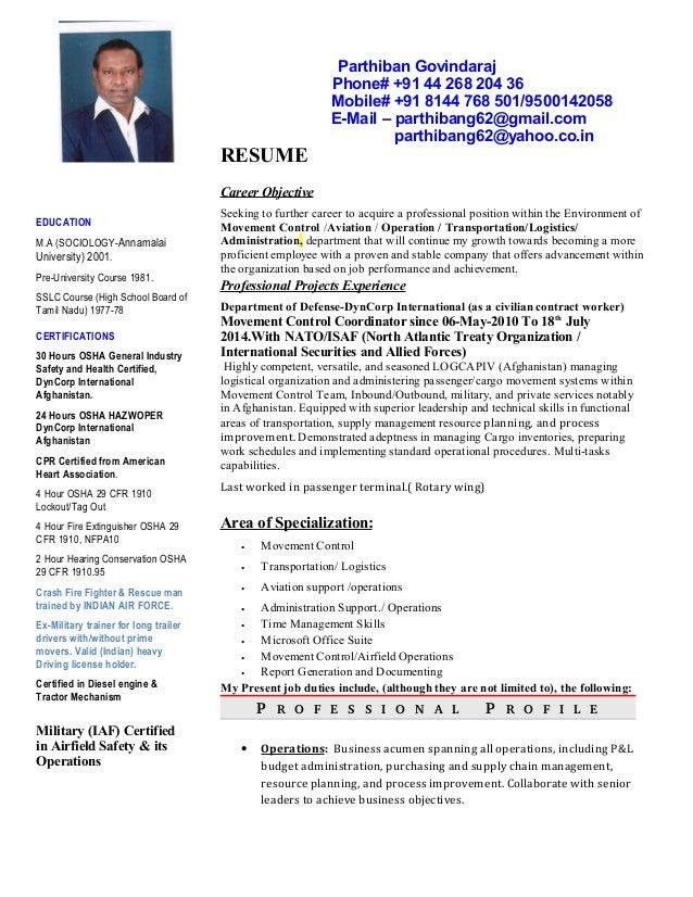 Parthis Resume