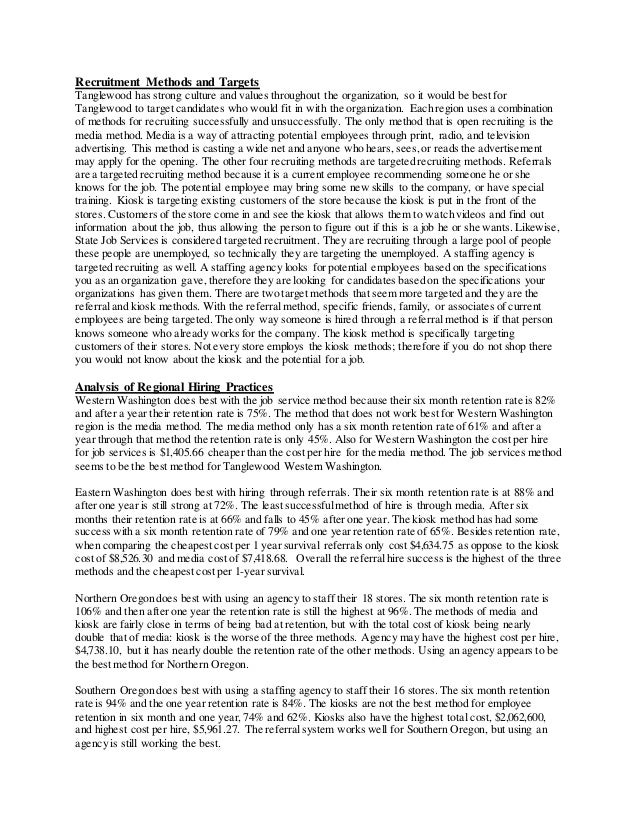 tanglewood essay 12012014  check out our top free essays on tanglewood case study four to help you write your own essay.