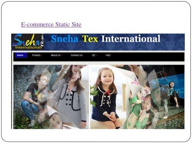 E-commerce Static Site