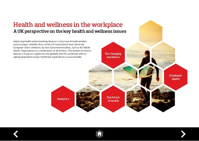 a thesis on health and wellness in the workplace Top 10 hot topics to pitch to editors at health & fitness magazines by freelance writing as early as 2004, the health and wellness industry was already a billion-dollar business, and almost all its sectors, including the fitness magazines, gained from its growth.