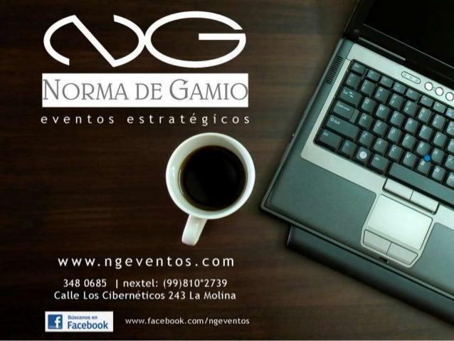 Presentacion de Agencia - NG Eventos 2011
