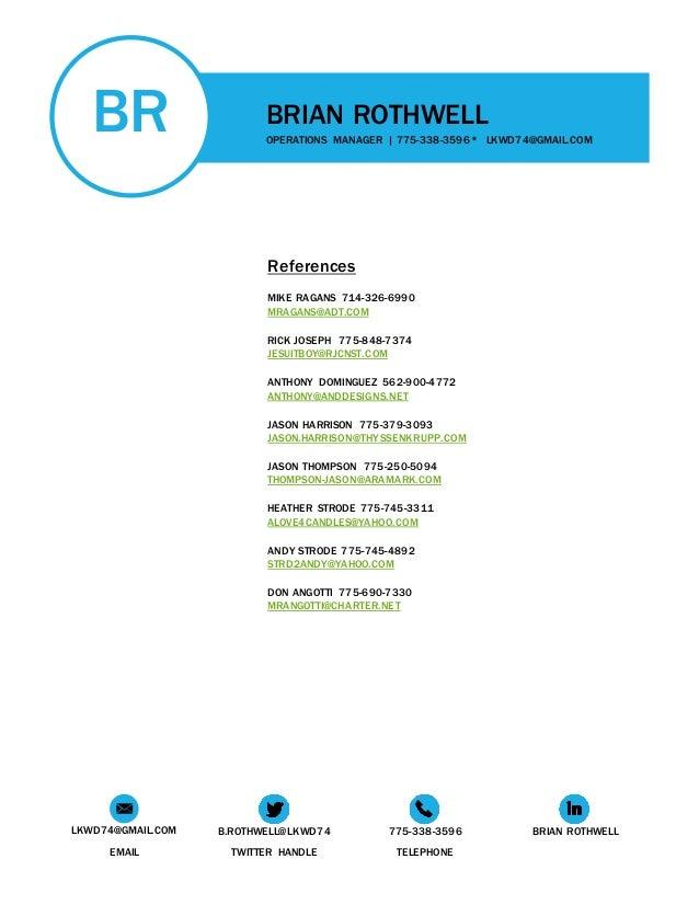 brian rothwell resume 2