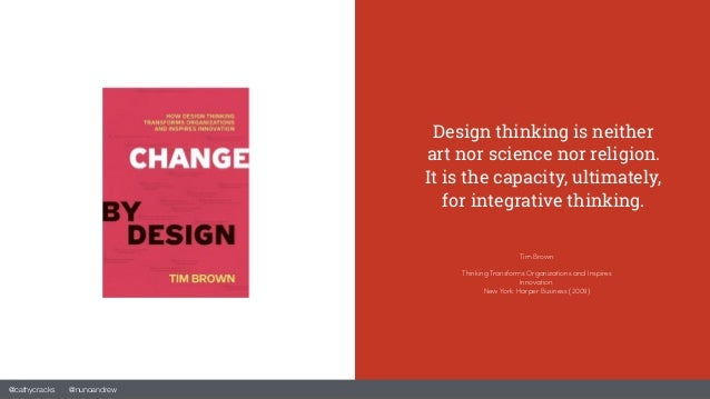 The design thinking transformation in business Slide 2