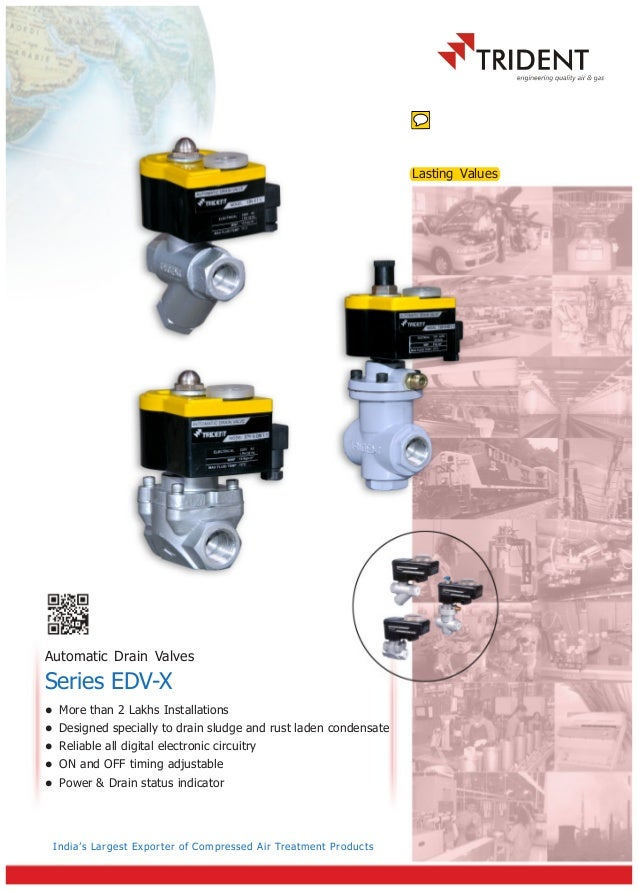 TRIDENT MAKE AUTOMATIC DRAIN VALVE CATELOGUE