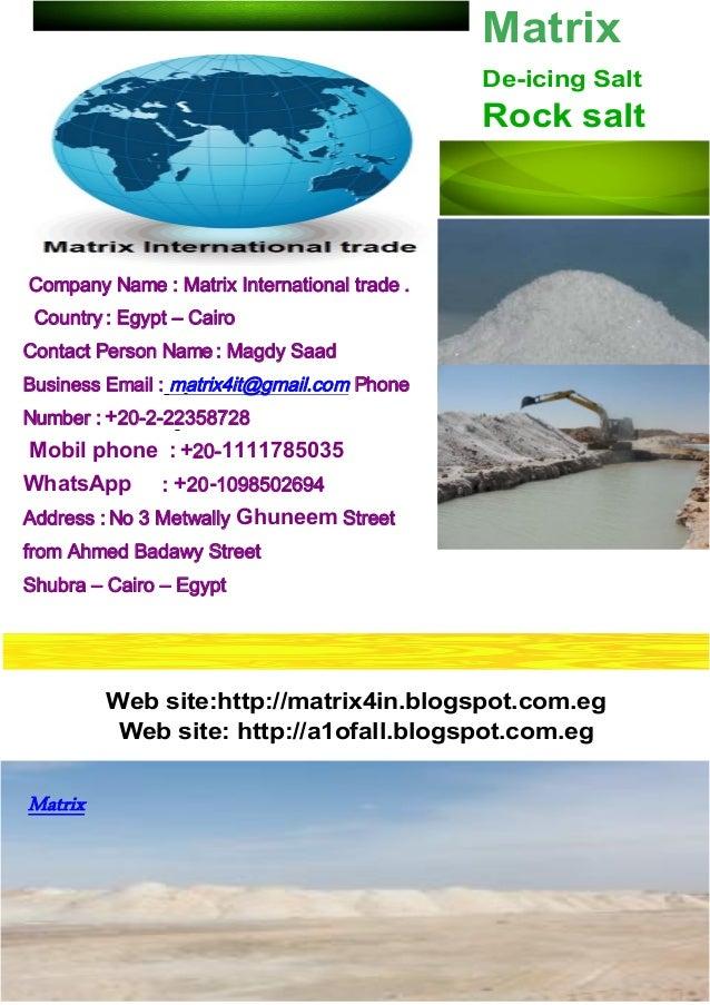 matrix international trade