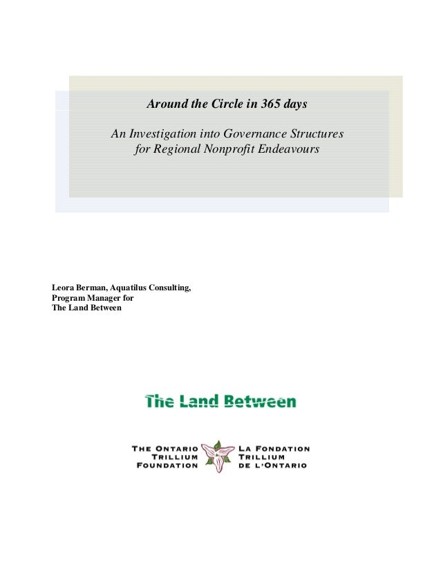 Leora Berman, Aquatilus Consulting, Program Manager for The Land Between Around the Circle in 365 days An Investigation in...