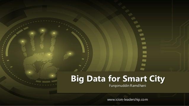 Big Data for Smart City Furqonuddin Ramdhani www.icion-leadership.com