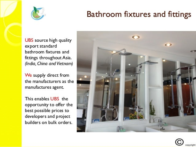 19 ubs tiles and bathroom products 2015 pdf for Bathroom accessories list pdf
