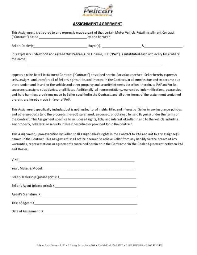 Dealer funding checklist fillable v12 28 15 for Retail installment contract motor vehicle