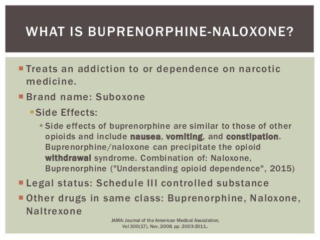 2015 Suboxone Treatment Presentation