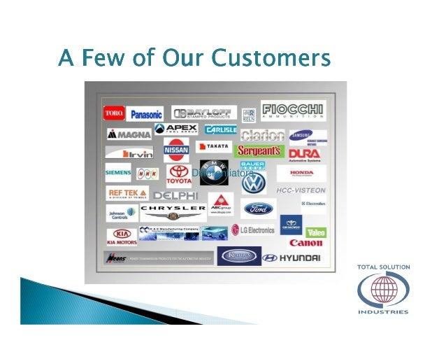 Differentiators A Few ofA Few ofA Few ofA Few of OOOOur Customersur Customersur Customersur Customers