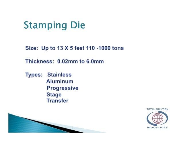 Stamping DieStamping DieStamping DieStamping Die