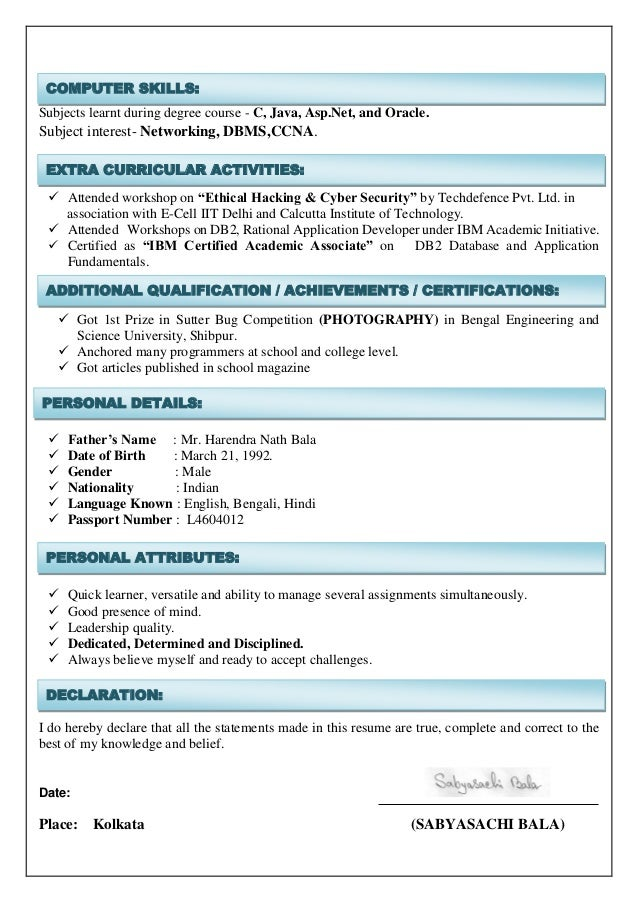 entry level computer science engineer sabyasachi bala entry level cyber security resume - Entry Level Cyber Security Resume