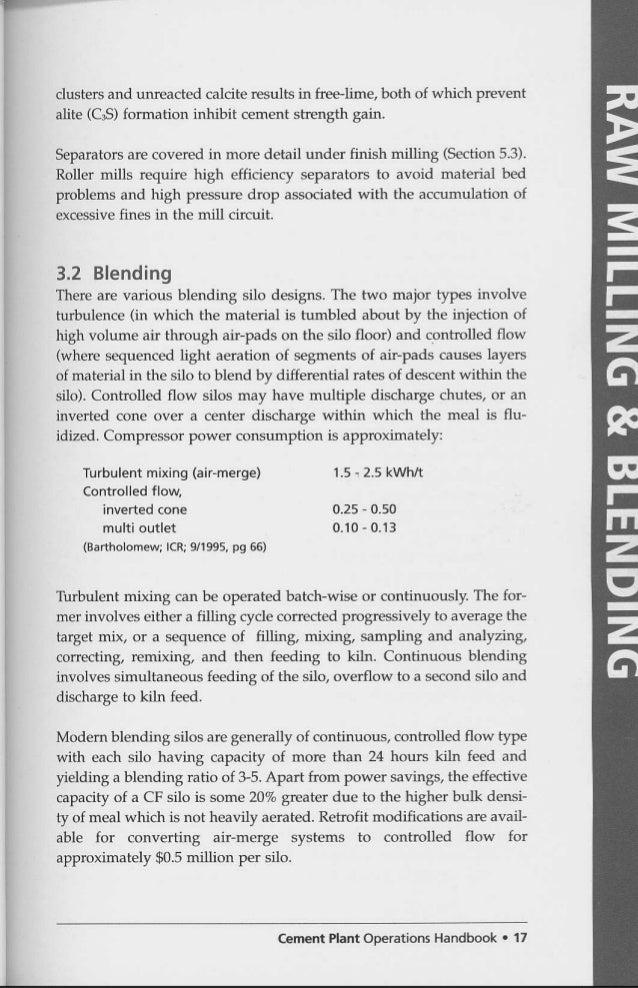 Cement plant operation handbook operations handbook 30 dusters fandeluxe Gallery