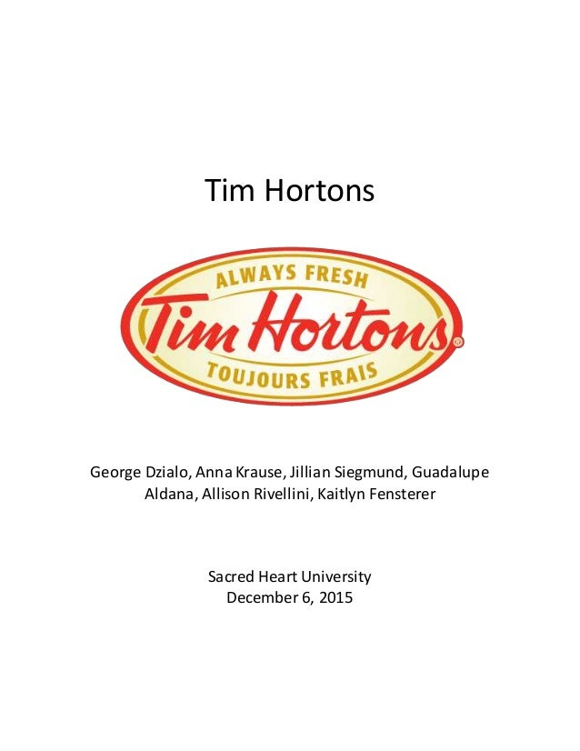 tim hortons pest analysis Tim hortons is a canadian multinational fast casual restaurant that is recognised for its doughnuts and coffee it is the largest quick service restaurant in canada.