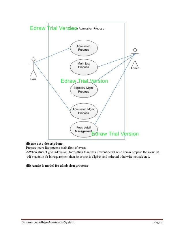 Use case diagram for college admission system wiring diagram 84899216 case study rh slideshare net use case diagram for hotel management system use case diagram ccuart Image collections