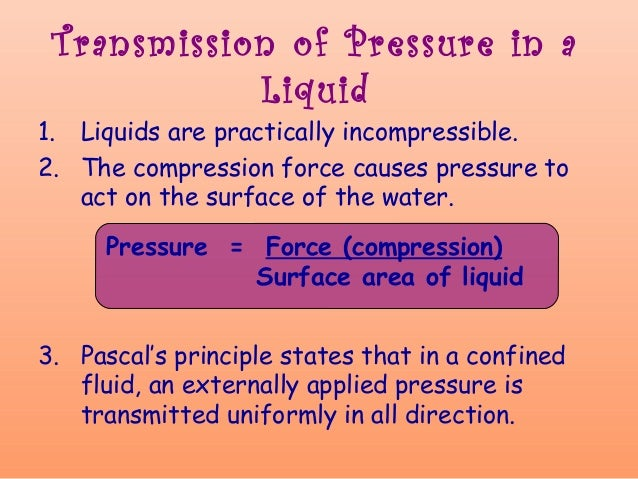 pascals principle Applications on pascal's principle ,  pascal's principle  it uses pascal's rule as the braking system uses a brake fluid ,.