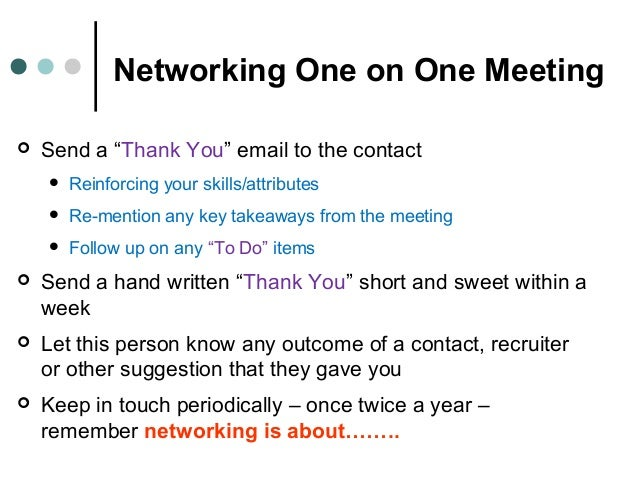 Networking - Everything That You Wanted to Know