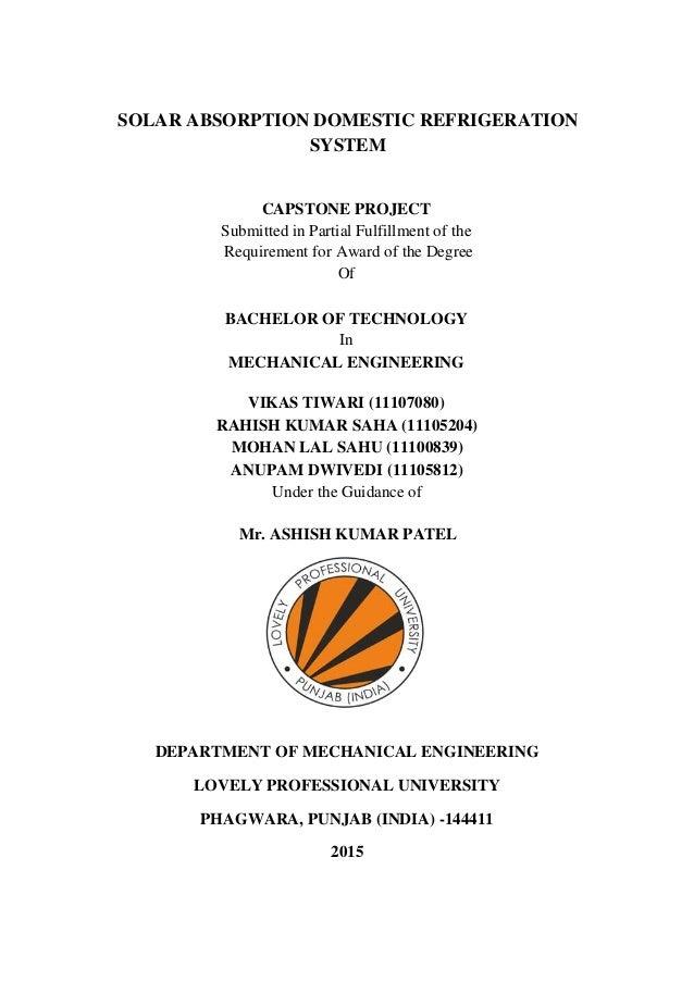 capstone project lpu