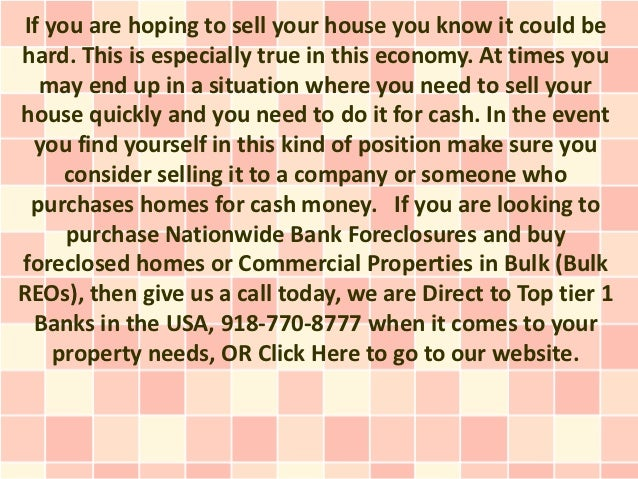 If you are hoping to sell your house you know it could behard. This is especially true in this economy. At times you   may...