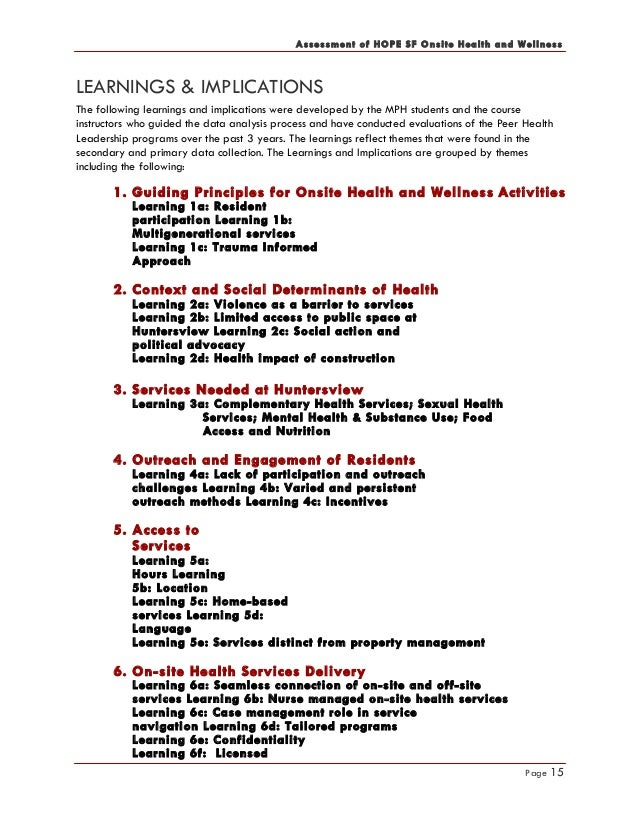onsite health and wellness assessment 7 2016 copy rh slideshare net